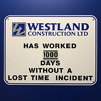 1,000 Days Without a Lost Time Incident