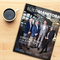 Westland Construction Featured On The Cover Of Build Manitoba