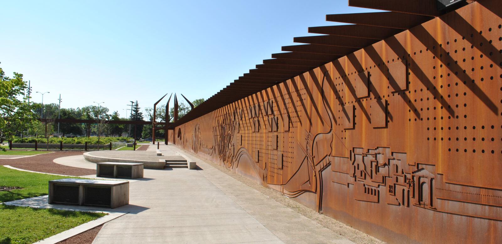 Upper Fort Garry Wall